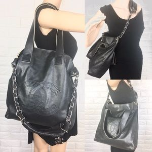 💎HOBO SLOUCHY 💎Chanel shoulder bag Lambskin tote